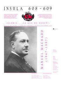Portada de la revista Ínsula dedicada a Manuel Machado
