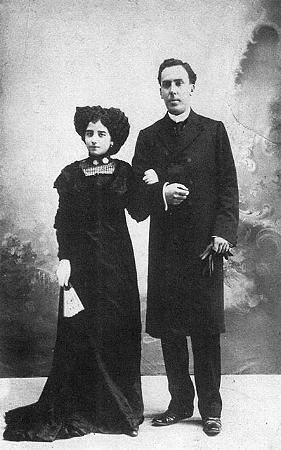 Leonor y Antonio Machado